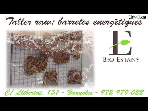 Bio Estany - Taller RAW: barretes energètiques