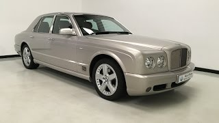 For sale - Bentley Arnage 6.8 T - Mulliner Level 2 Upgrade - 2005 - Nick Whale Sports Cars