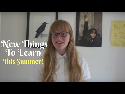 Things to Learn Over Summer || Extra Credit Ideas (sponsored)