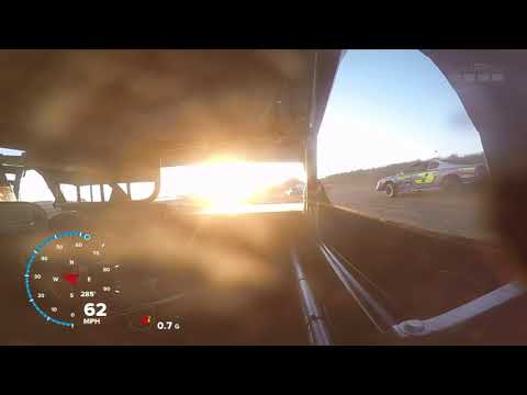 9-15-18 Marshalltown Speedway Stock Car Heat In-Car
