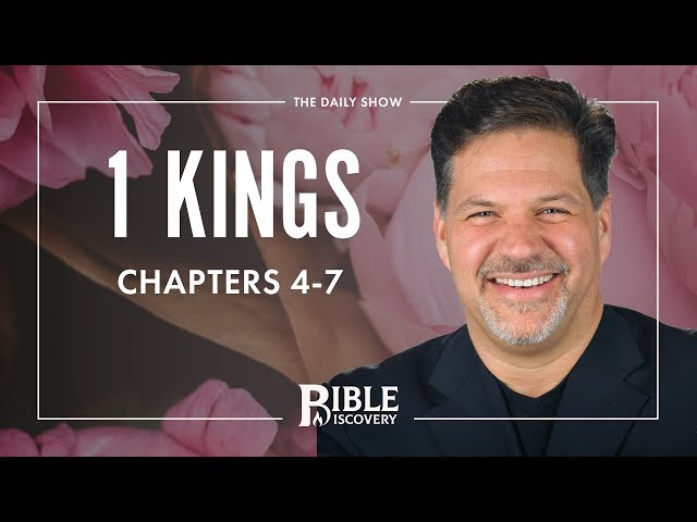 Building the Temple | 1 Kings 4-7