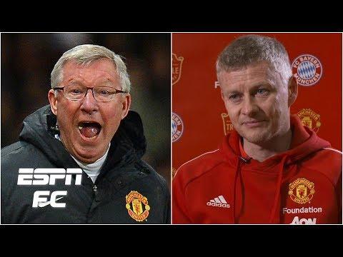Man United's Solskjaer models 'hairdryer treatment' after Sir Alex Ferguson | Interview