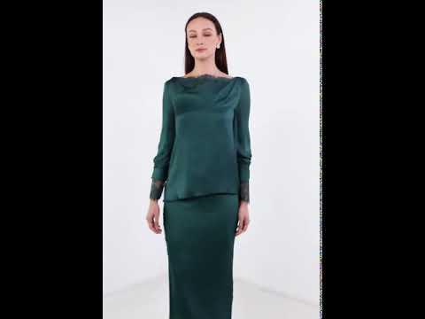 Shana - Emerald Green