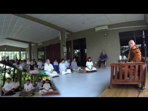 Guided meditation #2 given by Ajahn Martin (08/11/2016 - Malaysia) (HD)