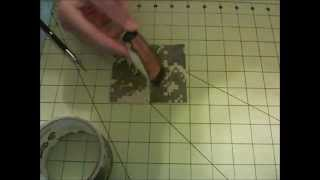 How to make a duct tape pocketknife holder