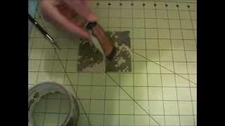 How to make a duct tape pocketknife holder