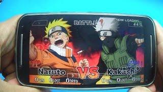 JOGANDO Naruto Ultimate Ninja Impact , Ninja Heroes 2 e 3  ,entre Outros !