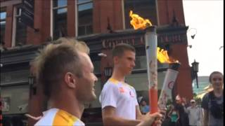 Pan AM/Parapan AM Torch Relay in Kitchener 2015