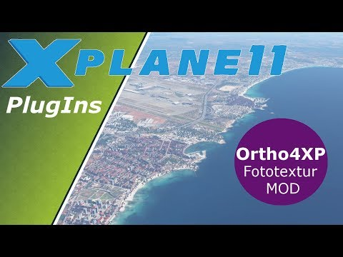 X-Plane 11 ✈️| Ortho4XP | Tutorial | Deutsch German