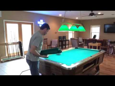 Disassemble Valley Pool Table YouTube - How much room is needed for a pool table