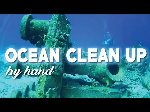 Ocean Cleanup In The Caribbean | Bonaire Clean Up Dive