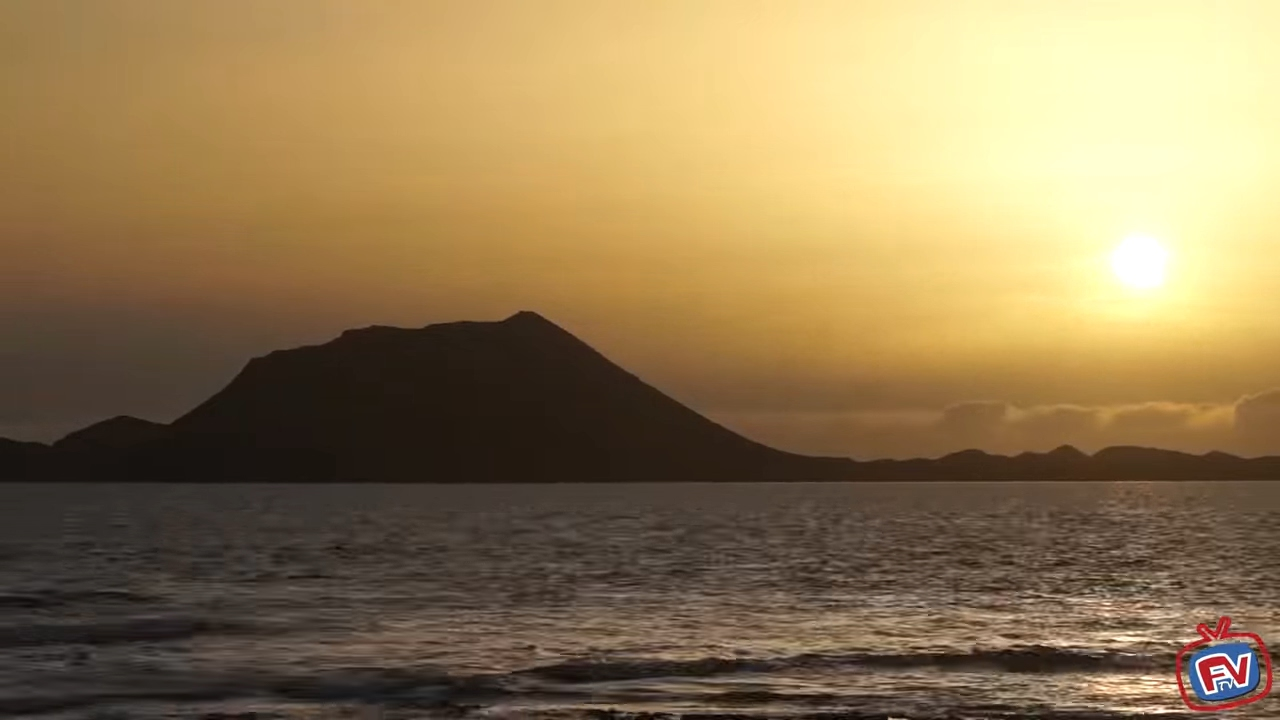 Fueteventura Sunrise in Corralejo
