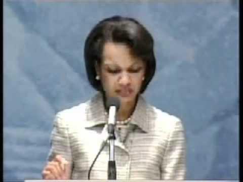 2005 Flashback: Condoleezza Rice Calls For Freedom