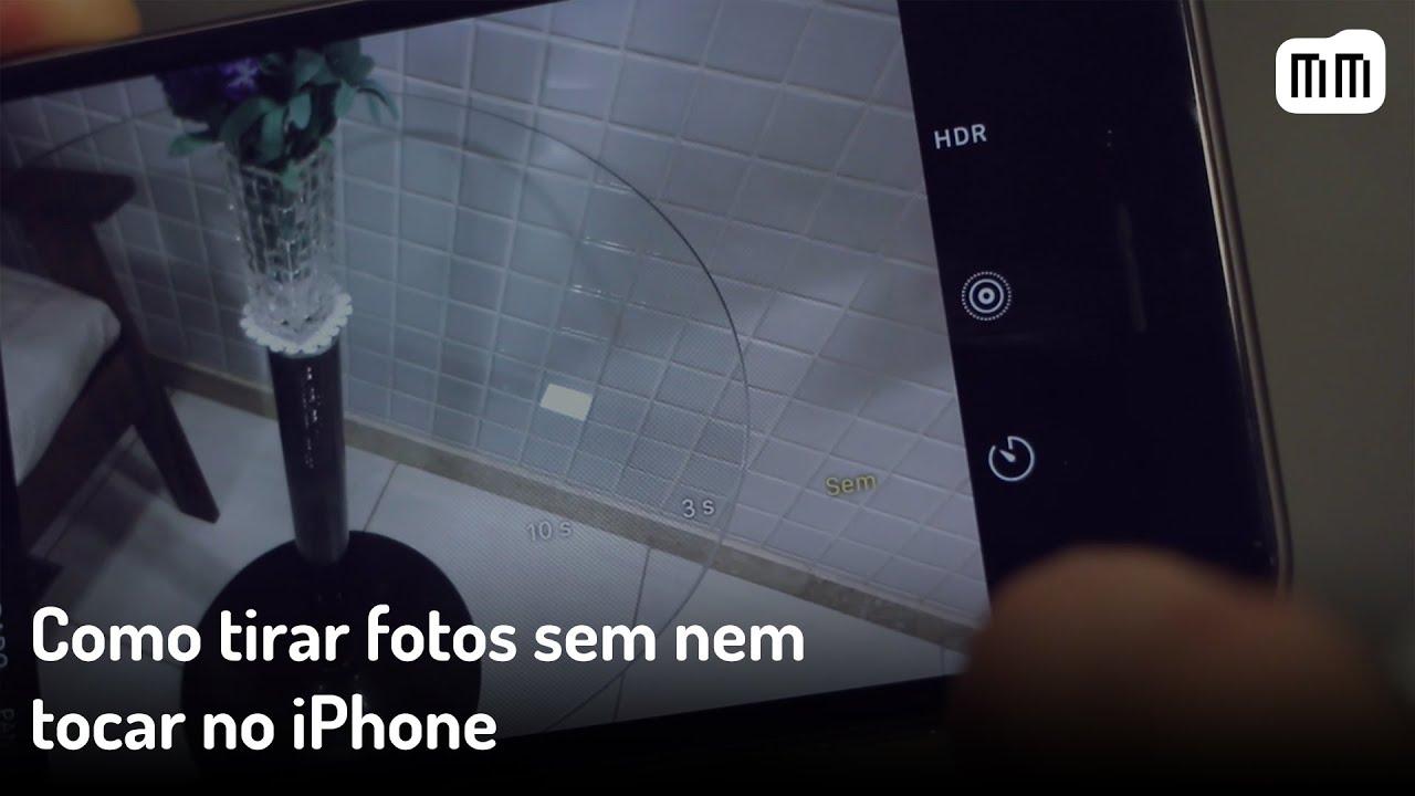 Vídeo: como tirar fotos sem nem tocar no iPhone