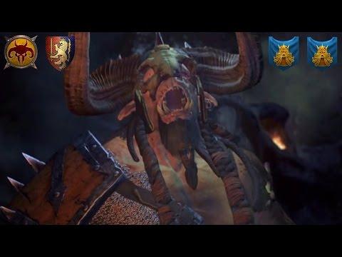 Bretonnians and the Beasts w/ Legend of Total War - Total War Warhammer Multiplayer Battle (LIVE)