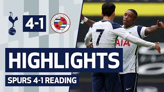 HIGHLIGHTS | SPURS 4-1 READING