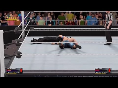 WWE 2k17 gameplay
