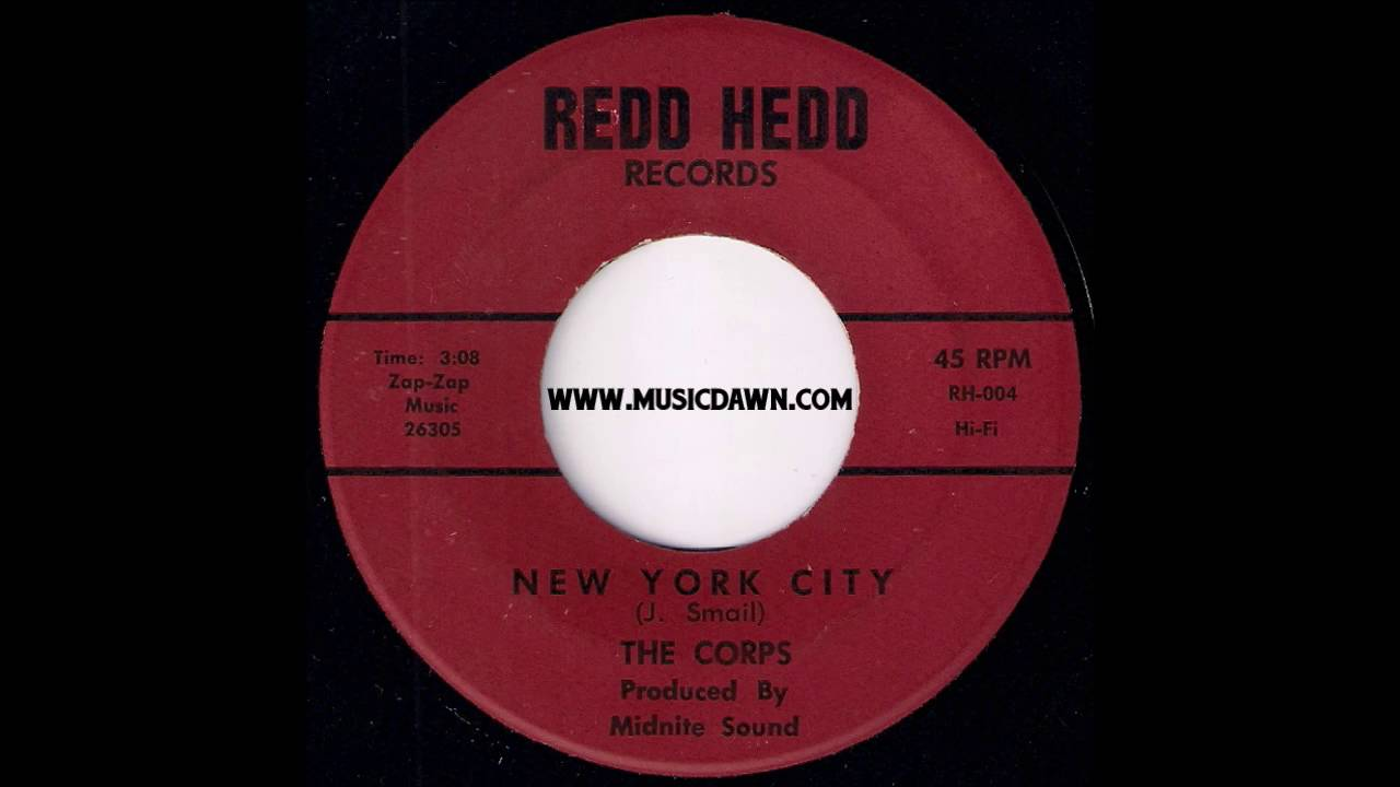The Corps - New York City [Redd Head] 1970 Obscure Funk Rock 45