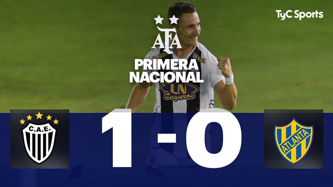 Estudiantes (BA) 1-0 Atlanta | Primera Nacional