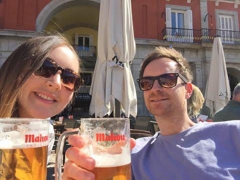 MADRID - SPAIN TRAVEL VLOG! (Pt. 2) / HOORAY! DAYS AWAY / Even more amazing Spanish food!
