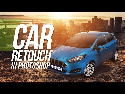 Car Compositing / Retouching In Photoshop