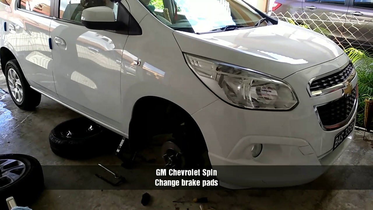 Chevrolet Spin change front ke pads - YouTube on car spin, testimoni chevy spin, hummer spin, honda spin, mobil spin,