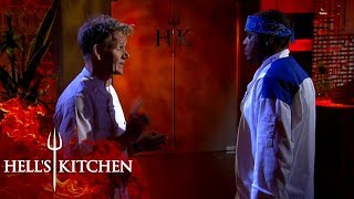 Gordon Ramsay Kicks GR Out Of Hell's Kitchen