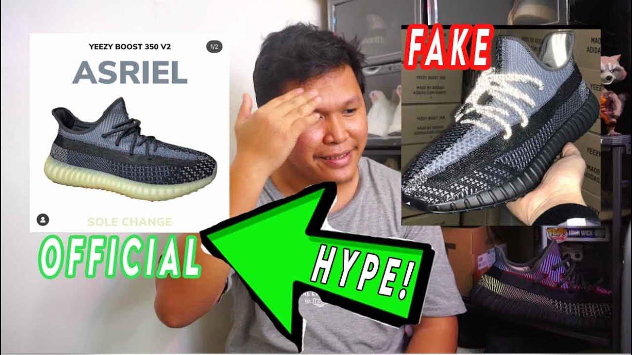 EARLY FAKE Adidas YEEZY 350 V2 ASRIEL