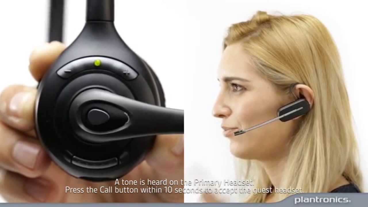 How to Subscribe a Guest Headset to a Savi 700 series base