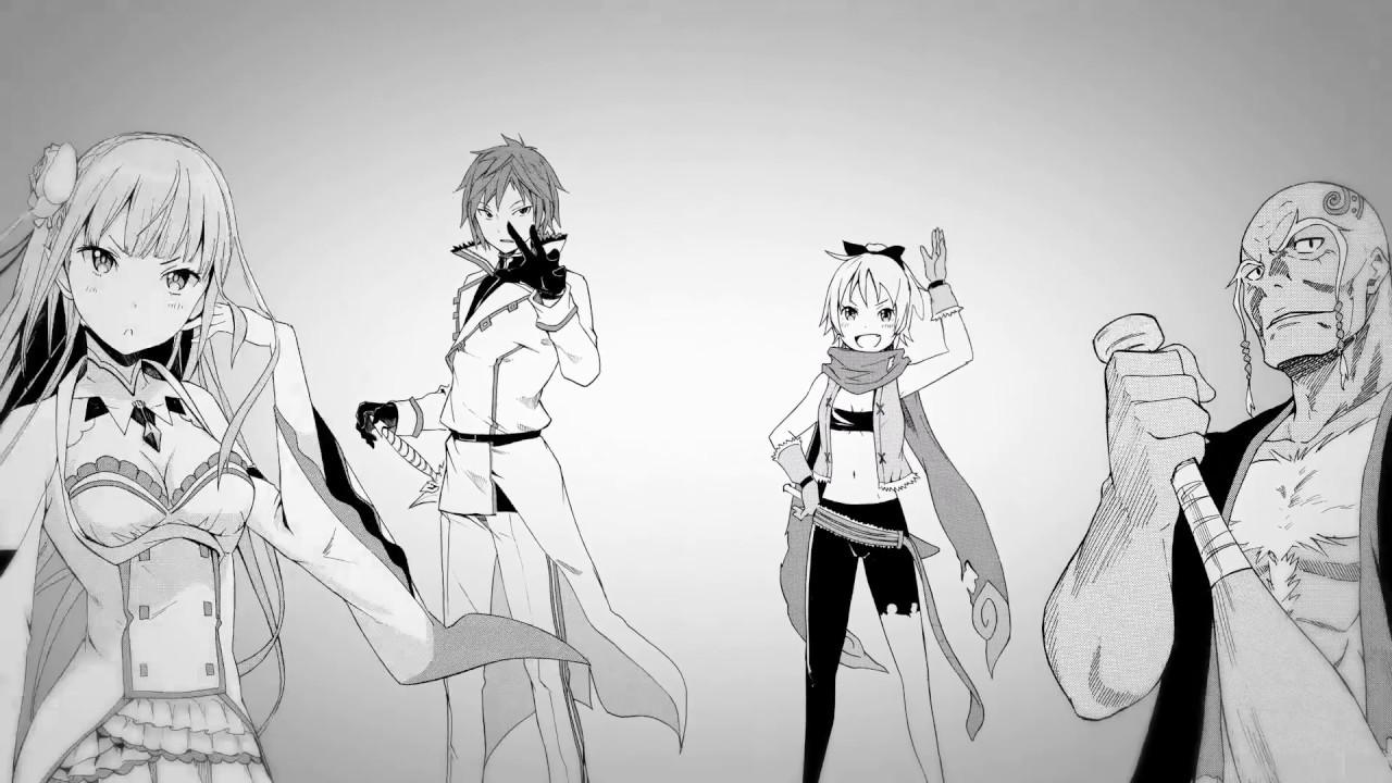 [Actu Manga] Bande-annonce de Re:Zero - Re:Life in a different world from zero