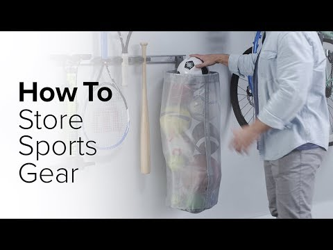 How To: Store Sports Gear