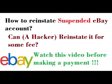 Ebay Account Suspended Should You Go For An Ebay Stealth Account Or Reinstate The Suspended One Youtube