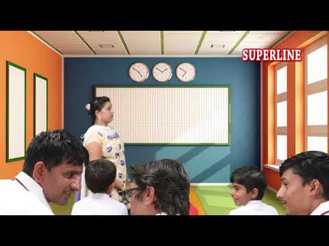funny student with a funny teachear