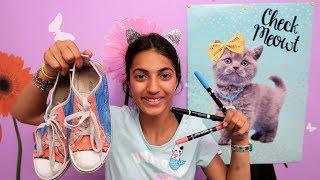 3 Colors TIE DYE Shoes Challenge!
