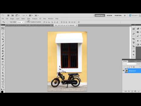 How to make picture collage in photoshop cs5