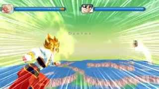 Dragon ball(Zeq2 lite[Gameplay]){FIGHT!!!} -