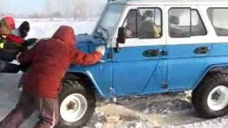 Видео с соревнований - гонки на льду. Барнаул
