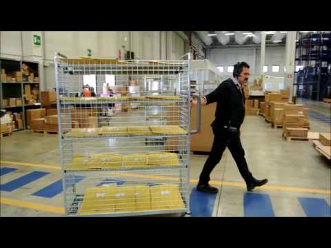 SDA Express Courier - Poste Italiane Group manage the warehouse with SMA.I.L:) by Replica Sistemi