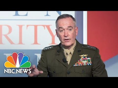 Tank Talk: One-on-One With General Joseph Dunford (Full) | NBC News