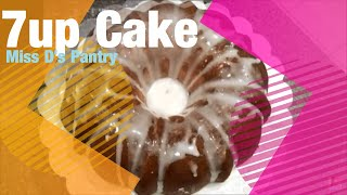 How To Make 7up Cake With 7up Glaze