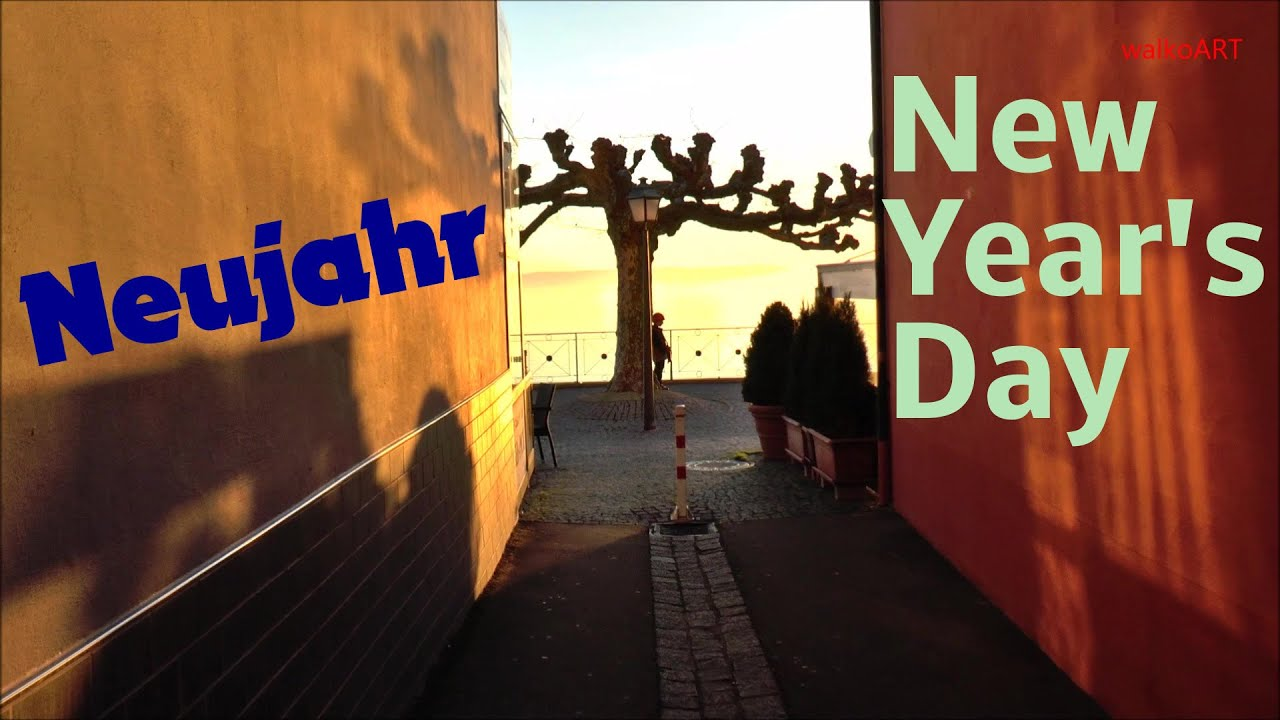 Neujahr 2020 - New Year's Day 2020 (Bodensee - Lake ...