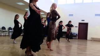 Комарова Дарья  и компания уроки фламенко 2015