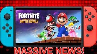Massive News: Fortnite Mushroom Kingdom Battle Royale Confirmed for Nintendo Switch!!!!!