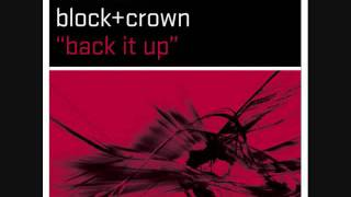 Santito Vs. Block + Crown- Back It Up (Radio Edit)