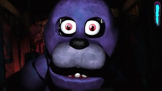 Five Nights At Freddys - ХОРРОР ИГРА - 1 НОЧЬ - МИШУТКА И ДРУЗЬЯ 1 - Прохождение