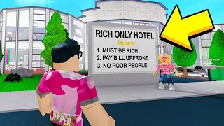 Download I Went To The RICH ONLY Hotel.. The INSIDE Will SHOCK You! (Roblox) Mp3 and Videos