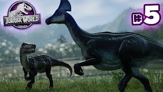 SURPRISE BARYONYX!!! - Jurassic World Evolution - Secrets of Dr.Wu | Ep5 HD