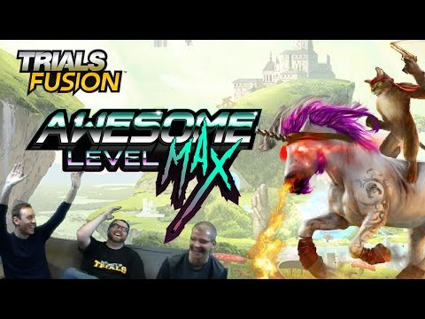 Trials Fusion: Awesome Level Max! Live Session w/ Professor FatShady [ANZ]