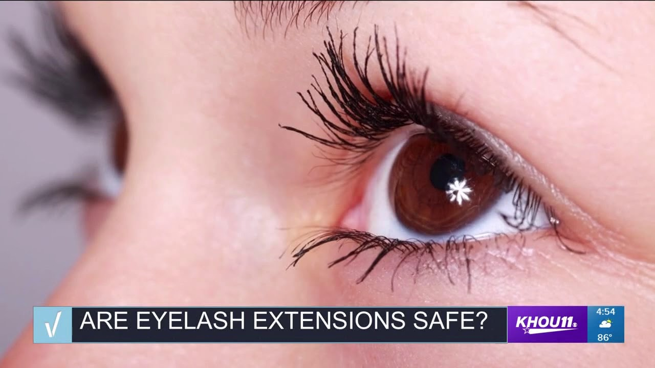 a67a3a339e5 Verify: Are eyelash extensions safe? - YouTube