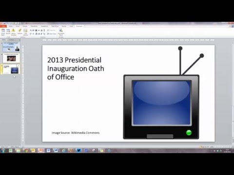 How To... Embed a YouTube Video into a PowerPoint 2010 Presentation [WORK-AROUND]